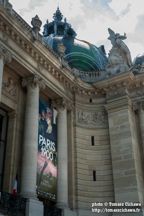 Expo Paris 1900 au Petit Palais.