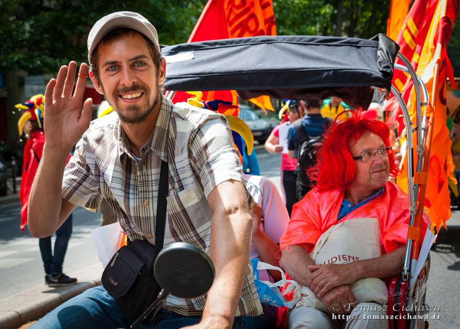 Mad Pride 2015 (Paris), ©Tomasz Cichawa