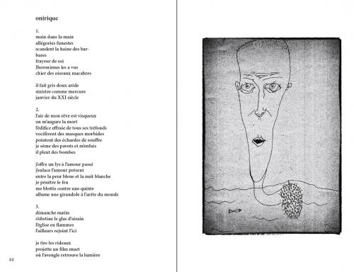 """Recueil de poèmes """"instantanés"""" de Tomasz Cichawa."""