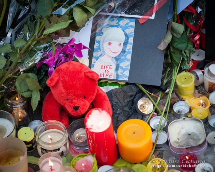 Le Bataclan. Attentats Paris. Novembre 2015.