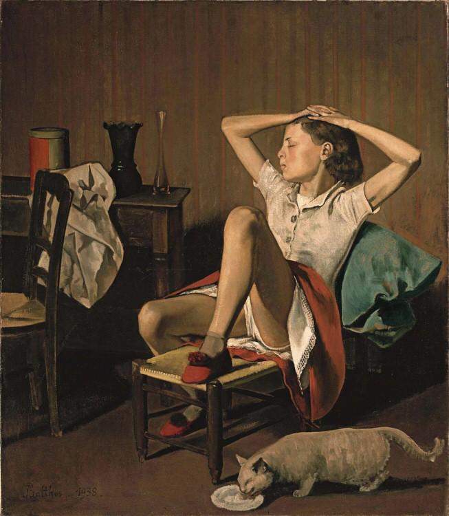 Balthus_Thérèse revant