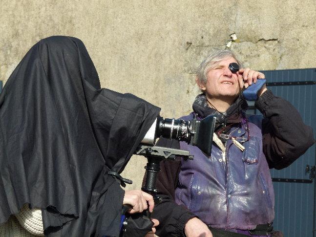 """Tomasz Cichawa sur le tournage de """"La danse des accrochés"""" de Thibault Dentel"""