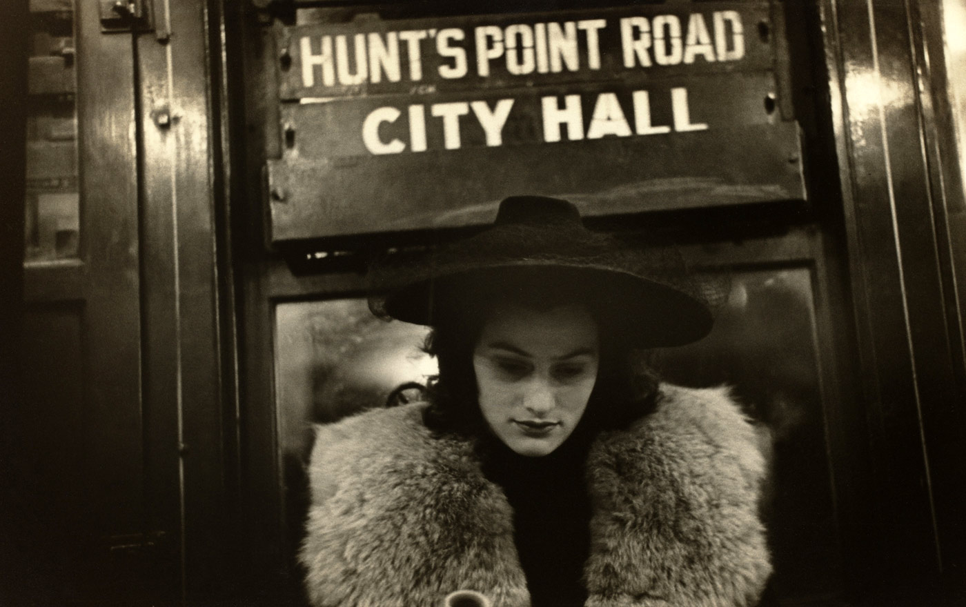 "Photographie : Walker Evans. ""Subway portrait"""