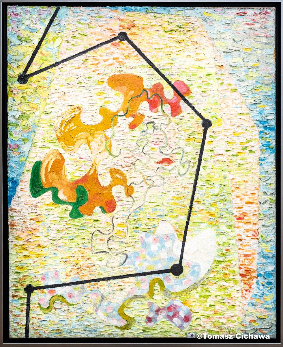 Peinture de Władysław Strzemiński • photo Tomasz Cichawa