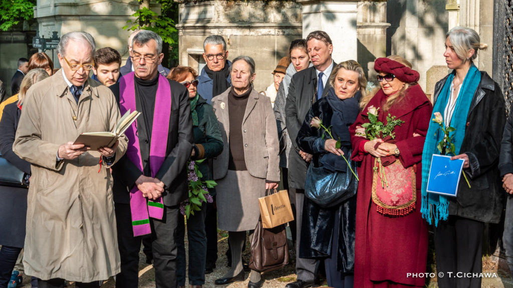 Inhumation de Jean Guillou