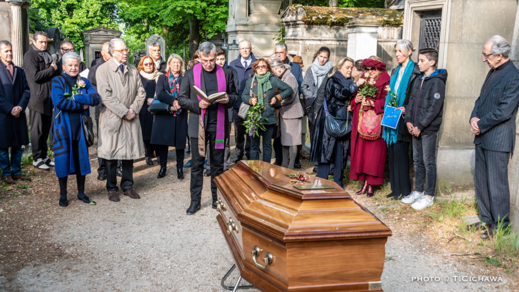 Inhumation de Jean Guillou
