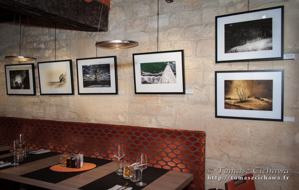 """Série """"Romantiques"""" exposée au restaurant Christine (Paris)"""