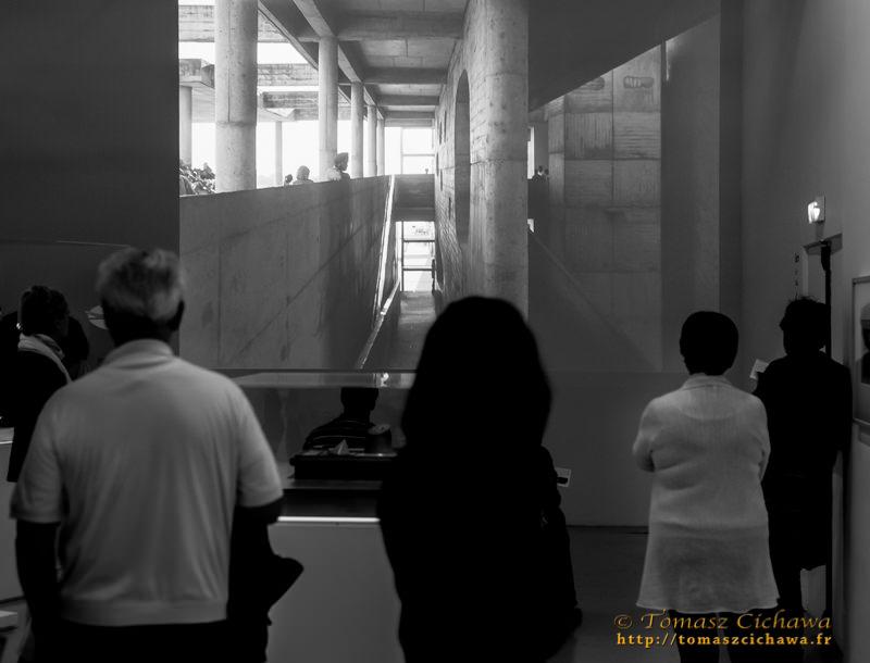 Exposition Le Corbusier (Paris 2015), ©Tomasz Cichawa