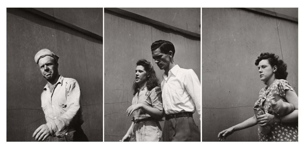 Photographies : Walker Evans.