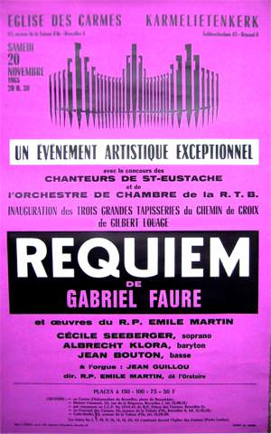 affiche Requiem Bouton