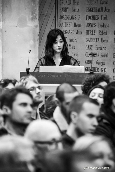 La Révolte des Orgues à l'Oratoire du Louvre, Sarah Kim