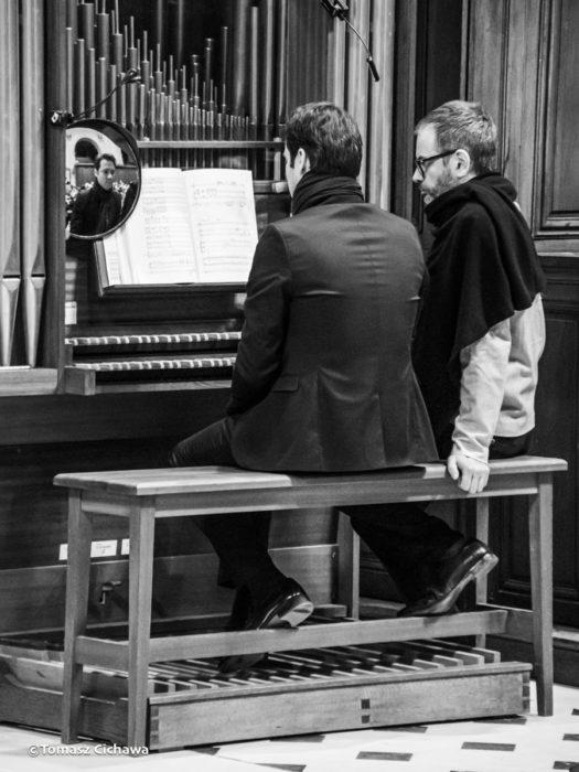 La Révolte des Orgues à l'Oratoire du Louvre, janvier 2020, l'orgue de chœur, Étienne walhain