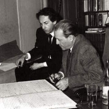 Jean Guillou et Bernard Gavoty